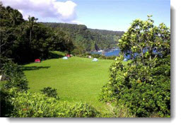 Kipahulu camp site