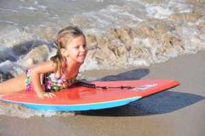 Kauai Boogie Boarding kids